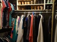 Minimalist closet?