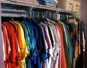 non minimalist closet