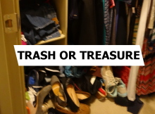 need clutter control?  play trash or treasure