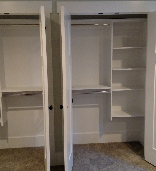 Double Wide Closet