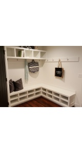 Awesome Show Storage Mudroom