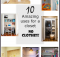10 Amazing uses for a closet - no clothes!
